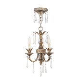 La Bella 3 Light Mini Chandelier