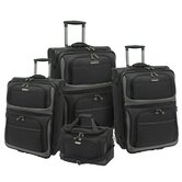 Lightweight 4 Piece Luggage Set