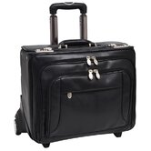R Series Sheridan Leather 2-in-1 Removable Catalog Case in Black