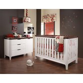 Piccolo Two Piece Convertible Crib Set