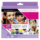 Body Art Sport Themed Paint Kit