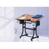 Creation Station Melamine Drafting Table