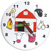 Kids Farm Clock