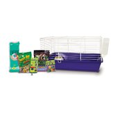 Home Sweet Home Guinea Pig Cage Starter Kit with F.M. Brown's Food