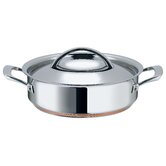Stainless Steel 24 cm Covered Sauteuse