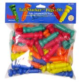 Tall - Stacker Pegs - 50 Pack