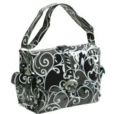 Midi Coated Buckle Diaper Bag