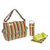 Laminated Buckle Diaper Bag