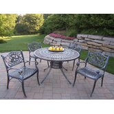 Sunray Hummingbird 5 Piece Dining Set