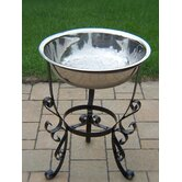 20&quot; Stainless Steel Ice Bucket with Stand