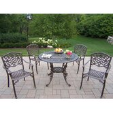 Mississippi 5 Piece Fully Dining Set