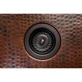"3.5"" Bar Sink Basket Strainer Drain in Oil Rubbed Bronze"