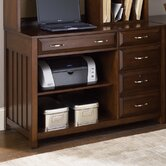 Hampton Bay Computer Credenza in Cherry