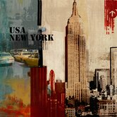 Big Apple Canvas Art