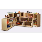 Fold and Roll Storage Cabinet
