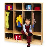 4-Section Coat Locker