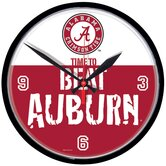 NCAA 12.75&quot; Round Clock