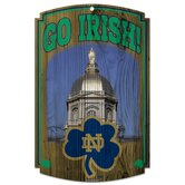 NCAA Wood Sign