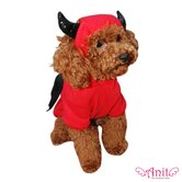 Devil Bat Dog Costume