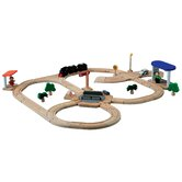 City Road and Rail Play Set - Turntable