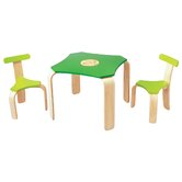 Large Scale Kids' 3 Piece Table and Chair Set