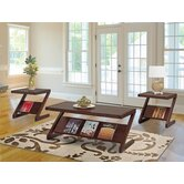 Zephyr 3 Piece Coffee Table Set