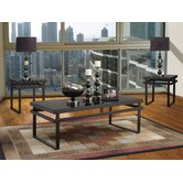 Serenity 3 Piece Coffee Table Set