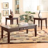Tribeca II 3 Piece Coffee Table Set