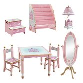 Princess Kids 7 Piece Furniture Set
