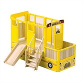 School Bus Play Loft Indoor Playground