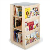 "44"" H Big Book Four Sided Library Book Shelves"