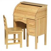 Jr. Roll-Top 27&quot; W Writing Desk