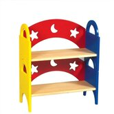 Moon &amp; Stars Stacking Bookshelf