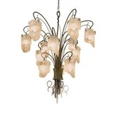 Recycled Soho 12 Light Chandelier