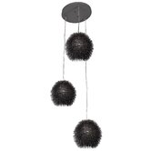 Urchin 3 Light Cluster Pendant