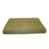 Quilted Orthopedic Dog Bed with Protector™ Pad in Sage