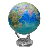 8.5&quot; Blue Oceans with Political Map Globe