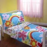 Happiness 4 Piece Toddler Bedding Set