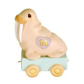 """Birthday Train It's Your Birthday Live It Up Large"" Walrus Figurine"