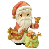 """May Your Christmas Ring with Joy"" Annual Santa Figurine"