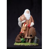 """Honey Bee Santa"" Limited Edition Santa with Bear and Beehive Figurine"
