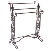 Iron Quilt Rack