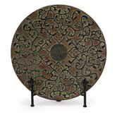 Van Eyck Charger with Stand in Antique Copper