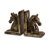Quinn Horse Bookends (Set of 2)