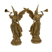 Trumpet Angels - Set of 2