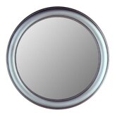 Round Mirror in Pewter
