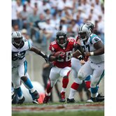 "Warrick Dunn Run Vs. Panthers Autographed 8"" x 10"" Photograph"