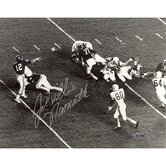 "Joe ""Willie"" Namath Passing Vs. Texas Autographed"