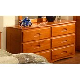 Weston 6 Drawer Dresser