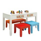 Paul Frank&reg; Play Kids' 4 Piece Table and Chair Set